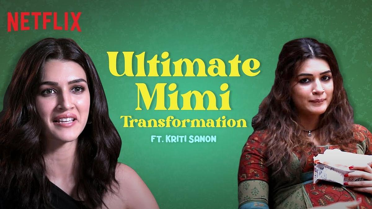 अपनी अपकमिंग फिल्म 'मिमी' के लिए कृति सेनन ने बढ़ाया 15 किलो वजन, सामने आया मेकिंग वीडियो
