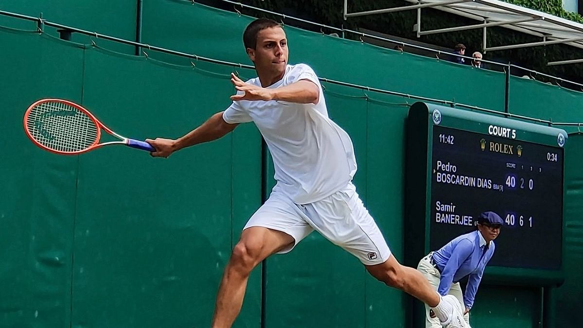 Wimbledon 2021: भारतीय-अमेरिकी समीर बनर्जी बने लड़कों के वर्ग के चैम्पियन