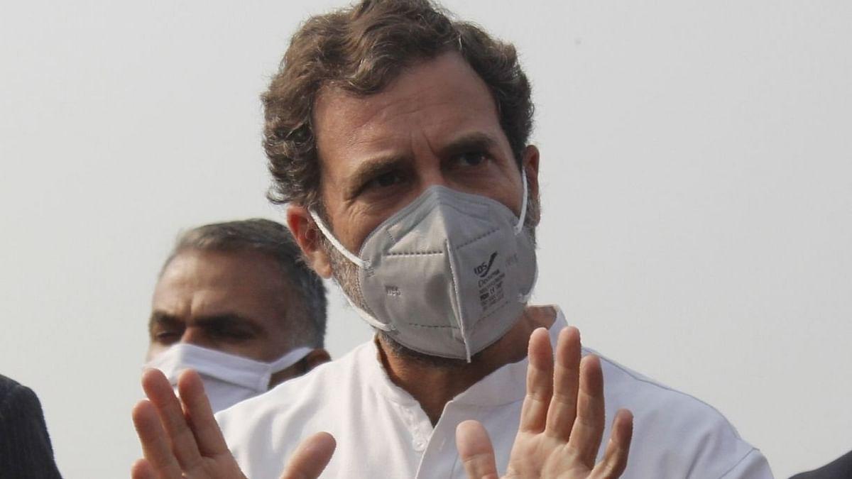 कांग्रेस में केवल साहसी लोगों का ही स्वागत है : राहुल गांधी