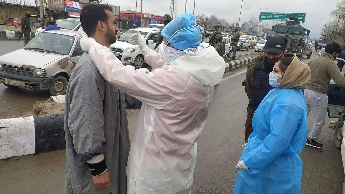 जम्मू-कश्मीर में कोविड के 203 नए मामले आए, 334 मरीज ठीक हुए