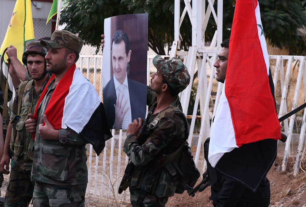 असद ने चौथी बार सीरिया के राष्ट्रपति के रूप में शपथ ली
