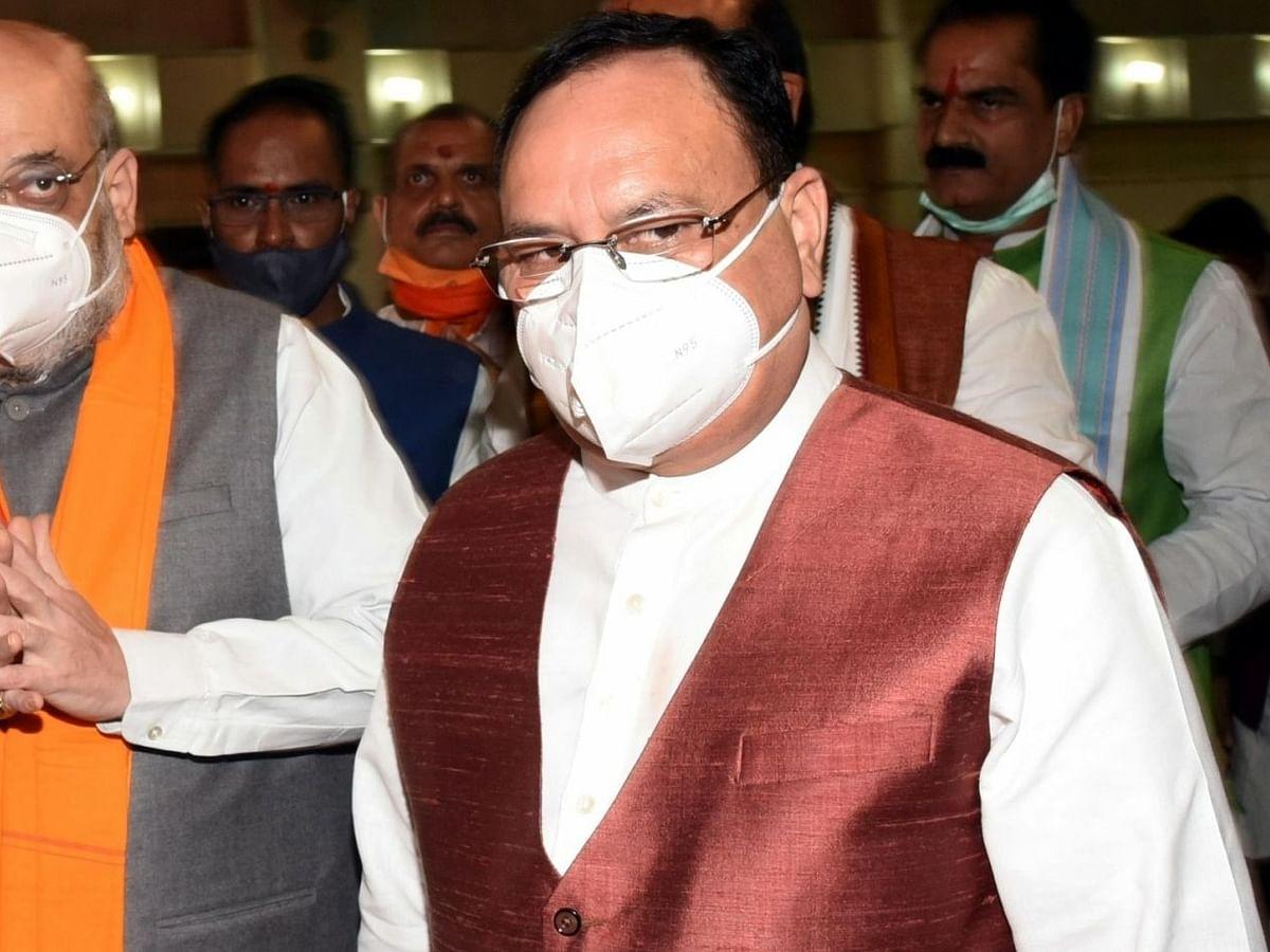 नड्डा, शाह और अरुण सिंह ने कर्नाटक की स्थिति पर की चर्चा, नए मुख्यमंत्री के नाम पर मंथन