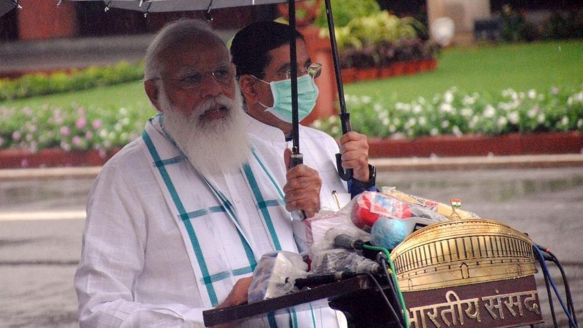कांग्रेस को अपनी नहीं, BJP की ज्यादा चिंता: प्रधानमंत्री नरेंद्र मोदी