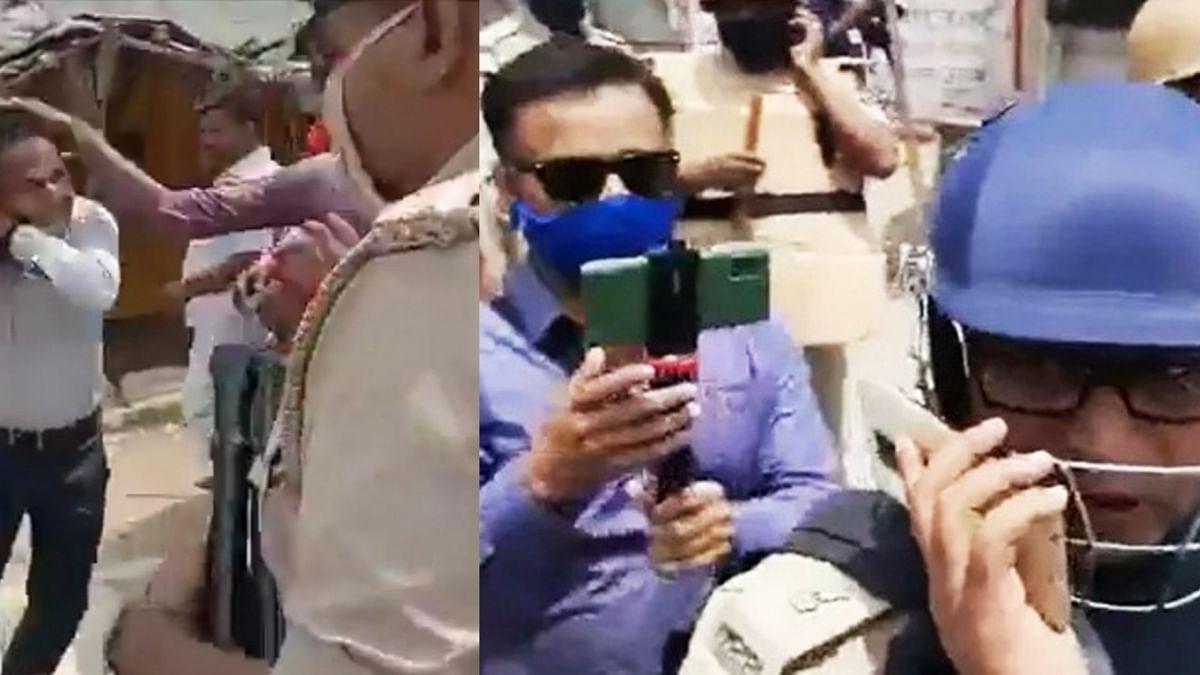 पत्रकार को पीटने वाले आईएएस अधिकारी के खिलाफ कार्रवाई संभव