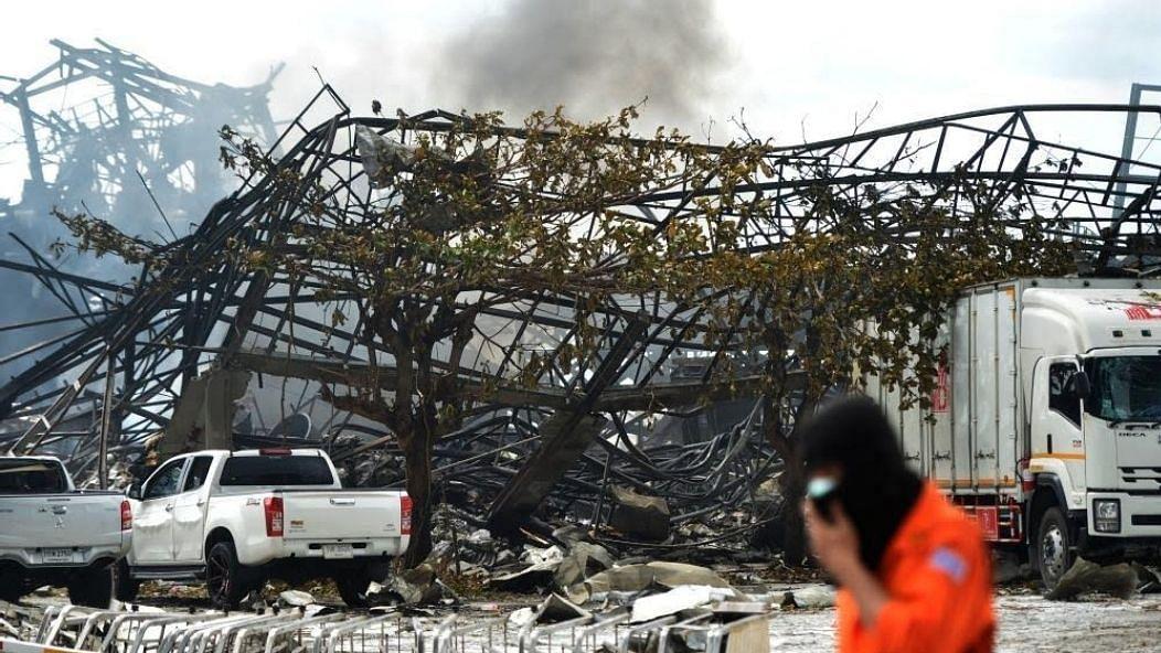 थाई केमिकल फैक्ट्री में विस्फोट, हादसे में 1 की मौत, 30 घायल