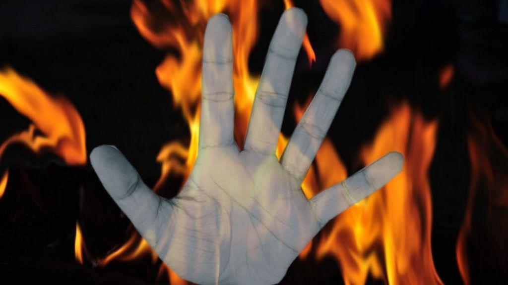 बुलंदशहर: बॉयफ्रेंड के भाई ने महिला को आग के हवाले किया