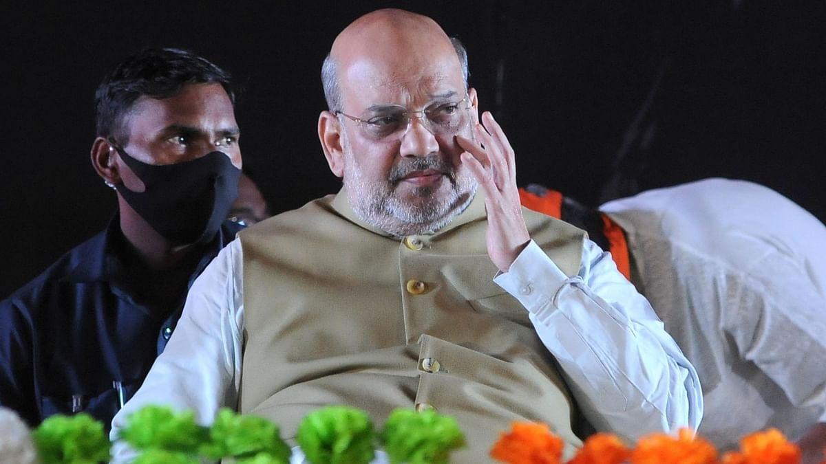 गृहमंत्री अमित शाह ने गांधीनगर को दी 448 करोड़ रुपये की परियोजनाओं की सौगात
