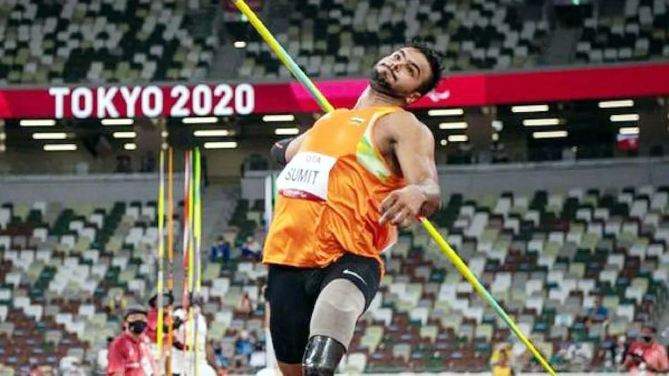 Tokyo Paralympics: भारत के सुमित अंतिल ने भाला फेंक में जीता स्वर्ण पदक, बनाया नया विश्व रिकॉर्ड