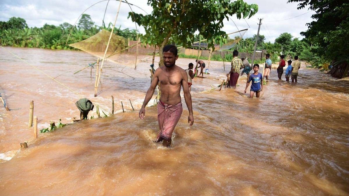 बाढ़ की स्थिति पर प्रधानमंत्री ने असम के मुख्यमंत्री से बात की, हरसंभव मदद का आश्वासन
