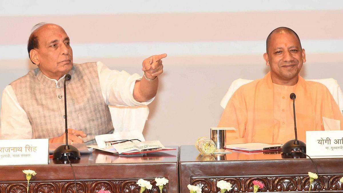 रक्षा मंत्री राजनाथ सिंह ने लखनऊ को दी 1,710 करोड़ की परियोजना की सौगात, योगी की प्रशंसा की