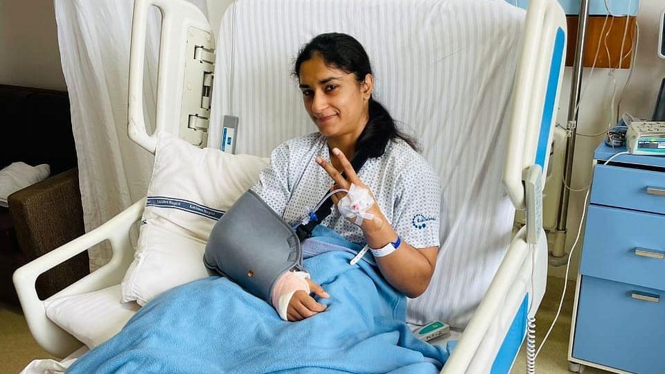 ओलंपियन पहलवान विनेश फोगाट की कोहनी की सफल सर्जरी हुई