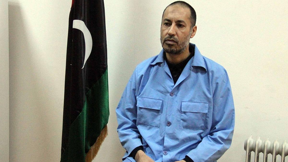 लीबिया ने दिवंगत नेता गद्दाफी के बेटे को रिहा किया