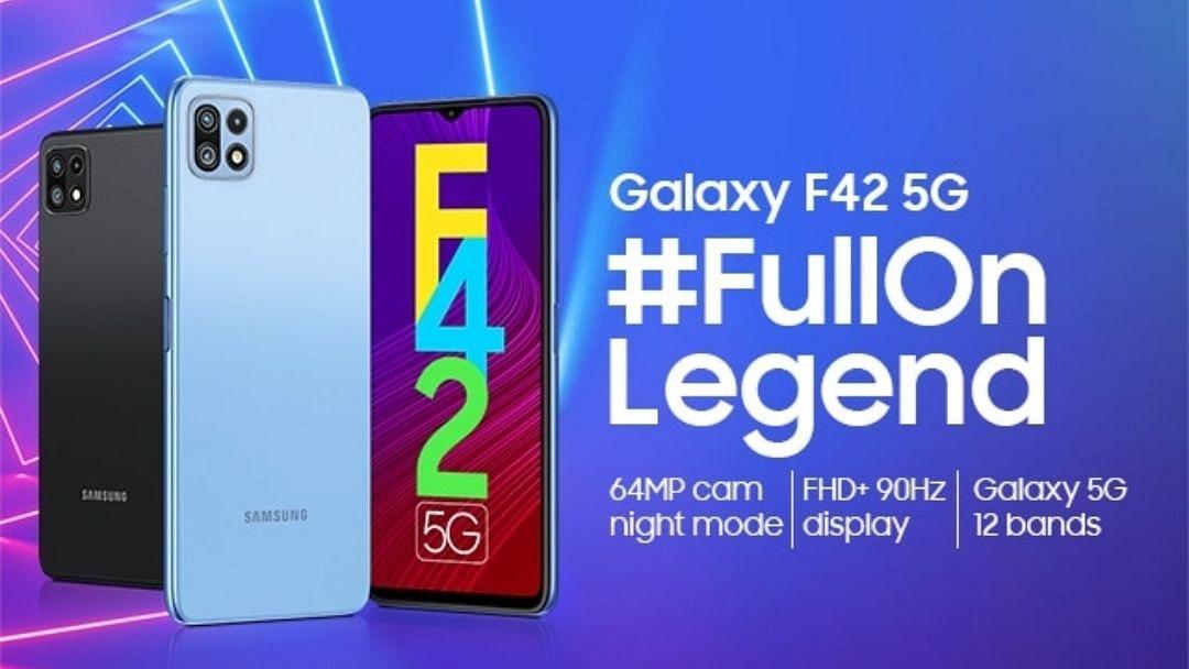 Samsung Galaxy F42 5G ट्रिपल रियर कैमरों के साथ भारत में लॉन्च
