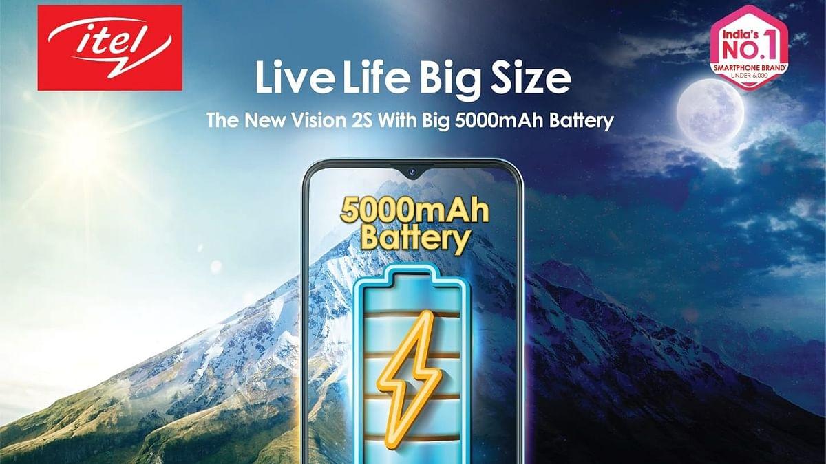 Itel ने बड़े डिस्प्ले और दमदार बैटरी के साथ प्रीमियम किफायती स्मार्टफोन विजन 2एस लॉन्च किया