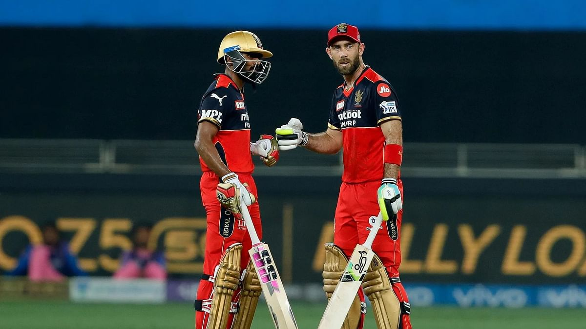 IPL 2021: मैक्सवेल के अर्धशतक से जीता बैंगलोर, राजस्थान को 7 विकेट से दी मात