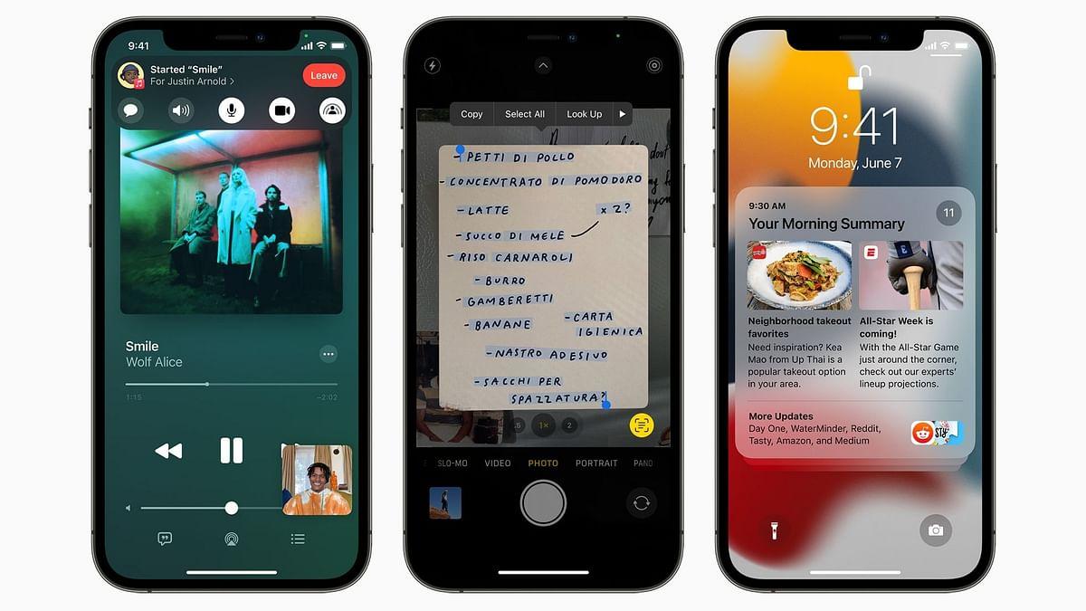 Apple ने डेवलपर्स के लिए IOS 15.1 का पहला बीटा किया जारी