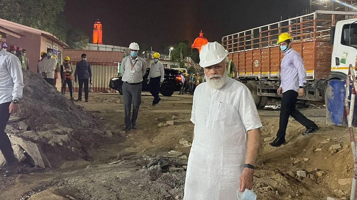 Central Vista Project: प्रधानमंत्री मोदी ने नए संसद भवन का किया अचानक निरीक्षण, निर्माण कार्यों का लिया जायजा