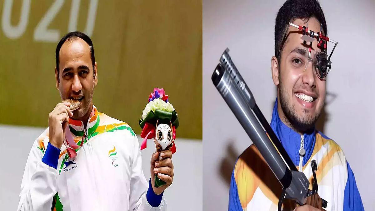 Tokyo Paralympics (Shooting): मनीष नरवाल ने जीता गोल्ड, सिंहराज ने सिल्वर मेडल