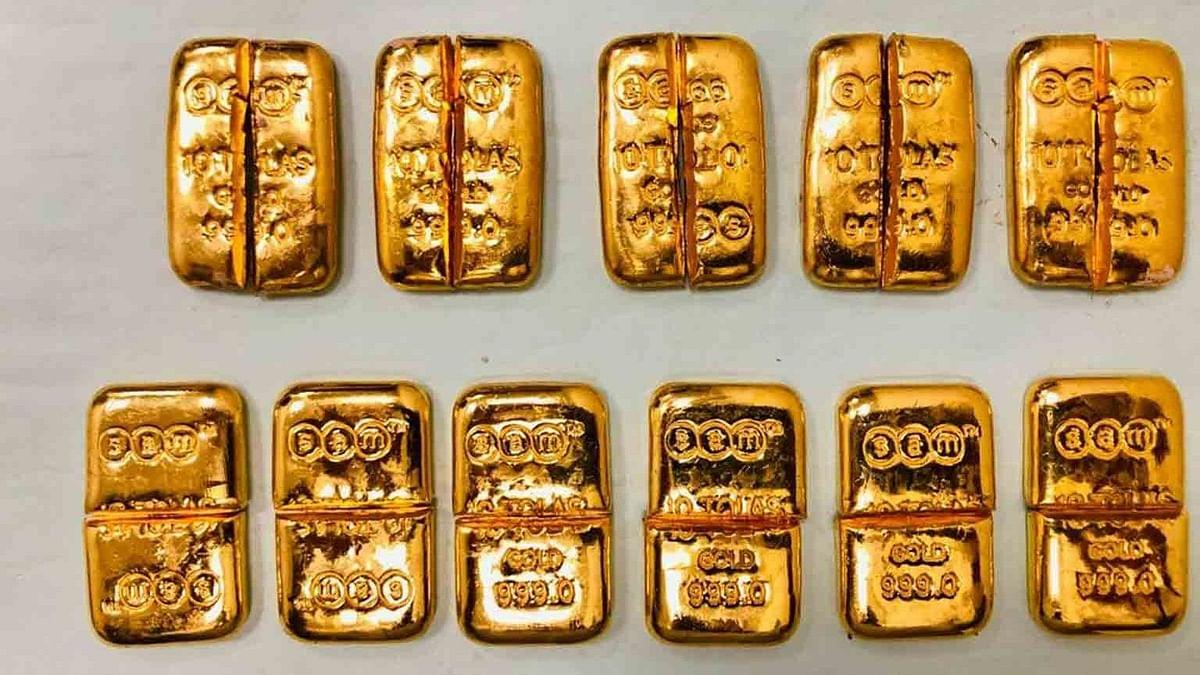 कस्टम ने चेन्नई हवाई अड्डे पर 1.33 करोड़ रुपये के 3.125 kg सोना किया जब्त
