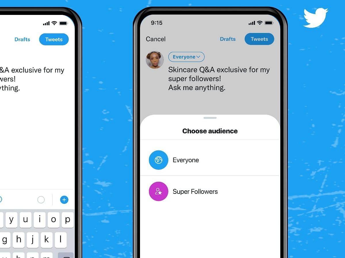 Twitter ने क्रिएटर्स के लिए 'सुपर फॉलोअर्स' किया रोल आउट