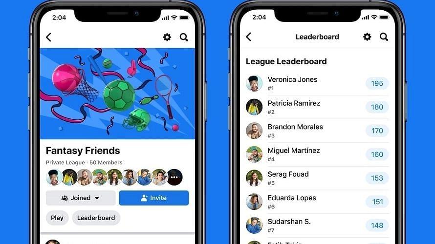 Facebook IOS, Android यूजर्स के लिए फैंटेसी गेमिंग स्पोर्ट्स को किया रोलआउट