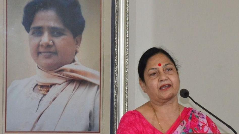 यूपी की ब्राह्मण राजनीति में हुई बसपा सांसद सतीश चंद्र मिश्रा की पत्नी की एंट्री