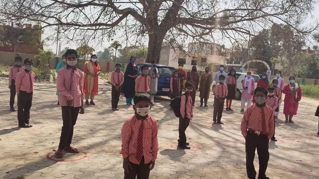 उत्तर प्रदेश के प्राथमिक स्कूल छात्रों के लिए फिर से खुले