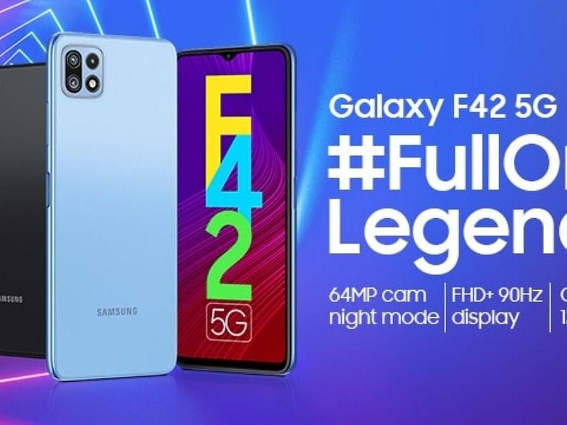 Samsung 29 सितंबर को Galaxy F42 5G स्मार्टफोन करेगा लॉन्च
