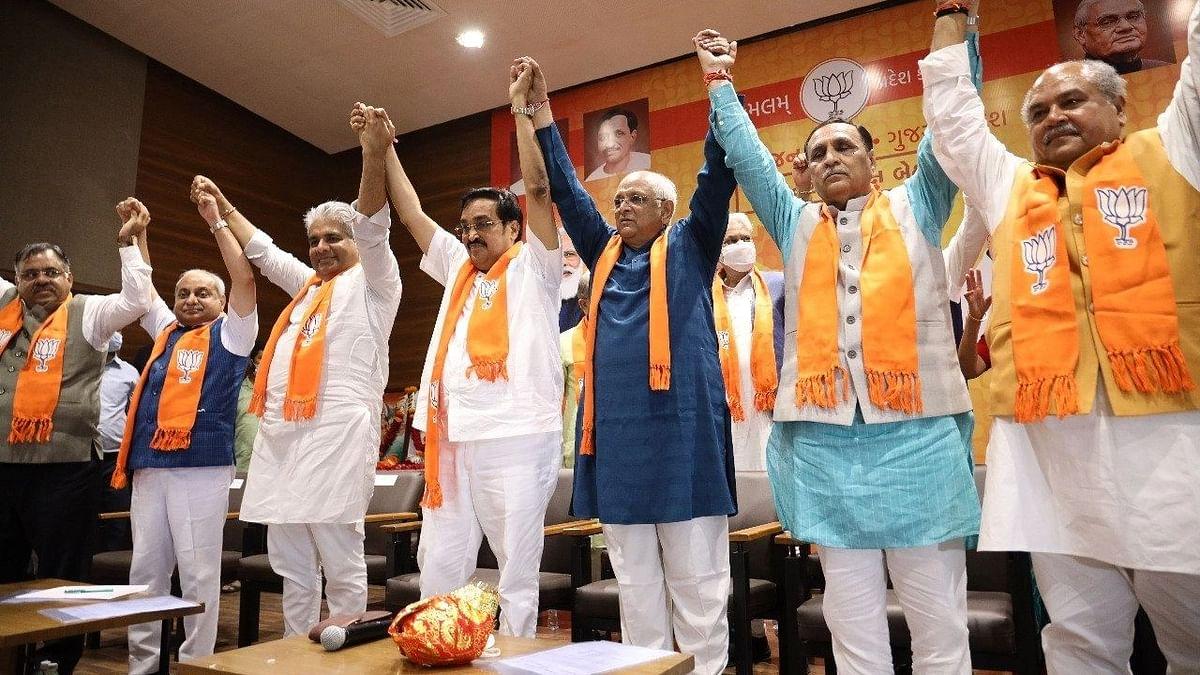 गुजरात के नए मुख्यमंत्री भूपेंद्र पटेल आज लेंगे शपथ