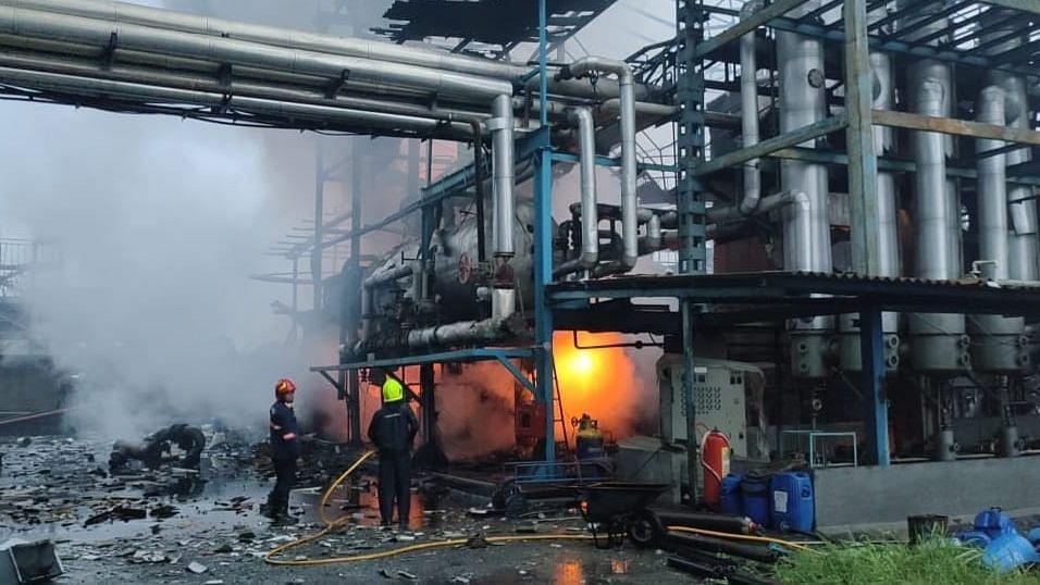 महाराष्ट्र: पालघर की कपड़ा फैक्ट्री में विस्फोट से 1 व्यक्ति की मौत, 1 लापता, 6 घायल