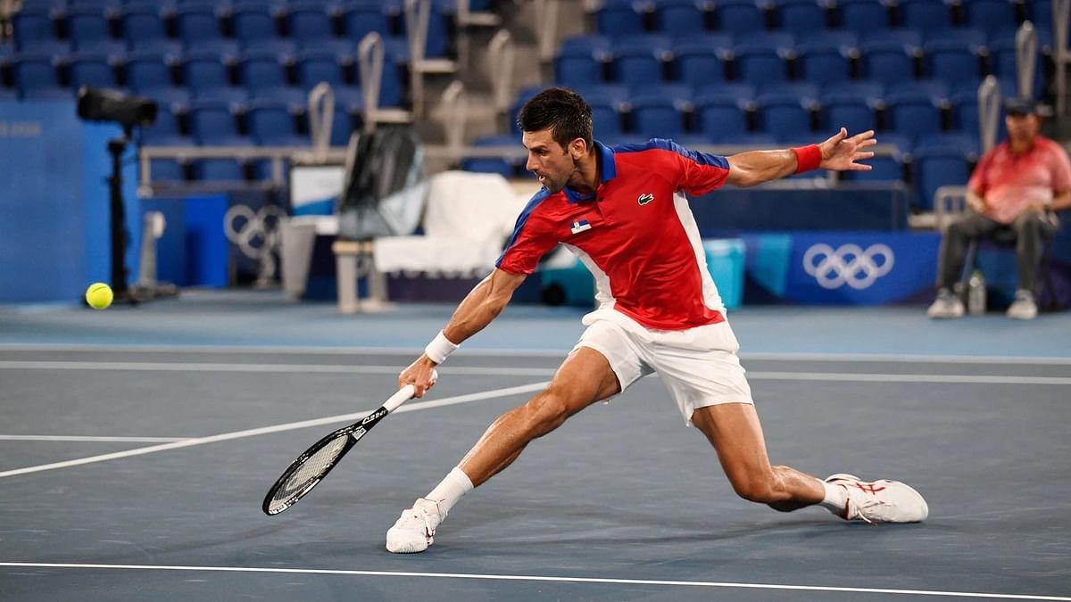 ग्रैंड स्लैम US Open टेनिस टूर्नामेंट के क्वार्टर फाइनल में पहुंचे नोवाक जोकोविच