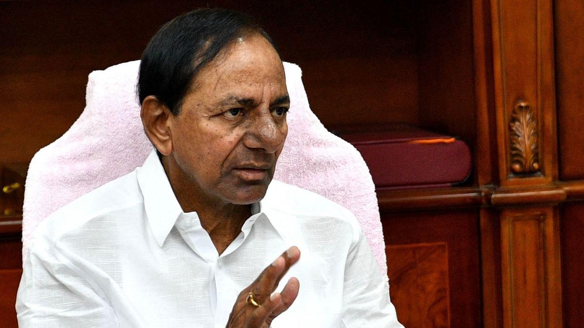 Cyclone 'Gulab': तेलंगाना के मुख्यमंत्री के. चंद्रशेखर राव ने लिया स्थिति का जायजा