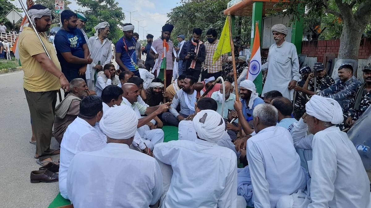 हरियाणा: किसान आंदोलन का चौथा दिन, करनाल में इंटरनेट सेवा हुई शुरु