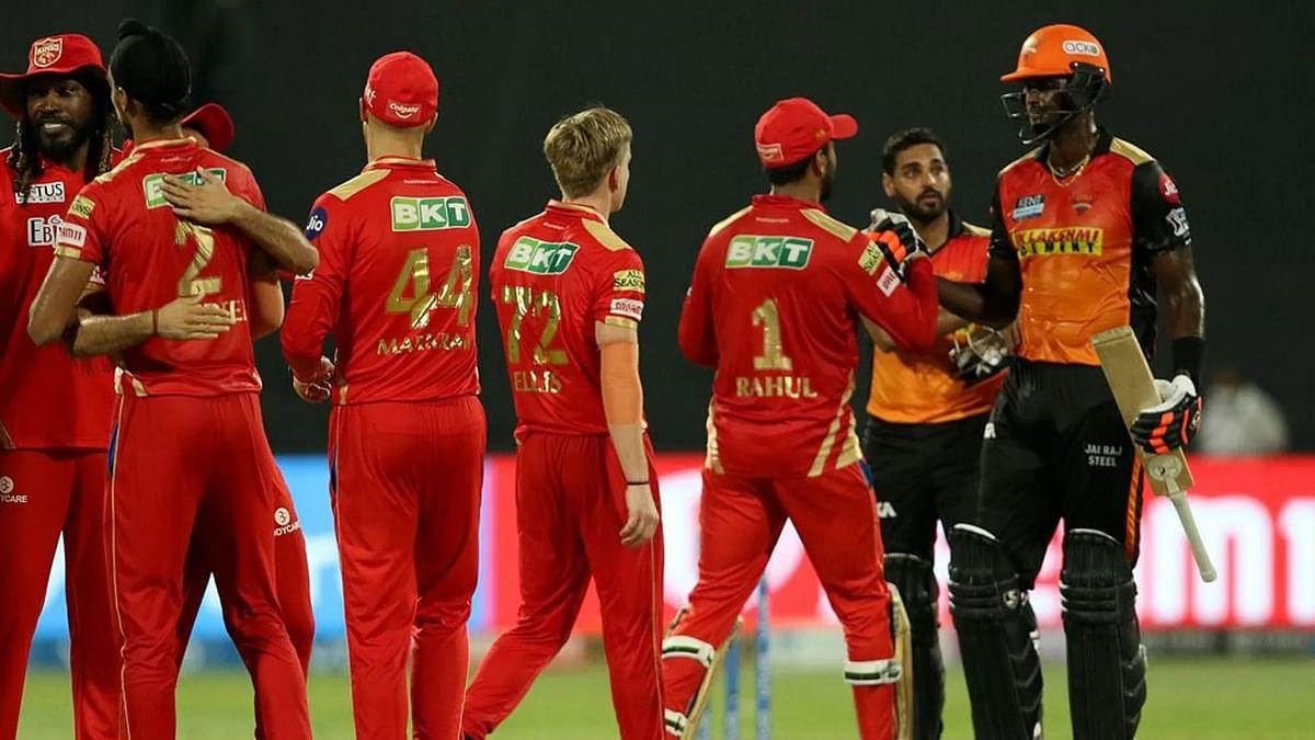 IPL 2021: रोमांचक मुकाबले में पंजाब किंग्स ने सनराइजर्स हैदराबाद को 5 रनों से हराया