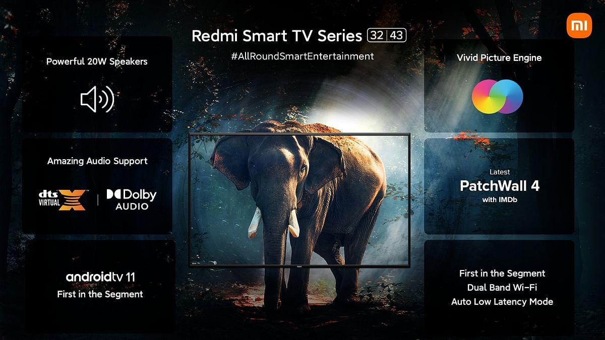 RedMi ने भारत में लॉन्च किए 32 इंच और 43 इंच के Smart TV