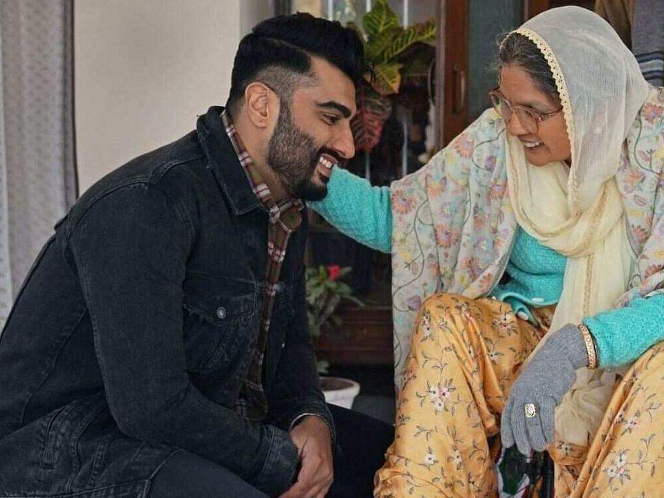 नीना गुप्ता, अर्जुन कपूर ने 'सरदार का ग्रैंडसन' फिल्म की यादें साझा की