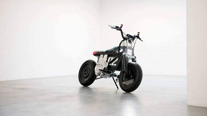 BMW ने पेश की सीई 02 इलेक्ट्रिक मिनी बाइक
