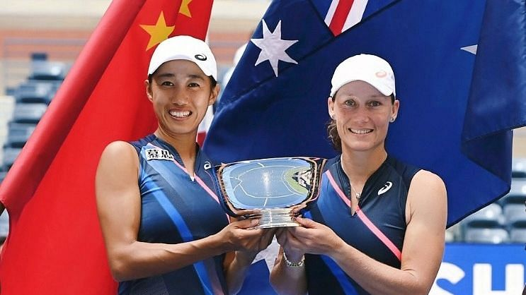 US Open : स्तोसुर और शुआई की जोड़ी ने जीता महिला युगल का खिताब