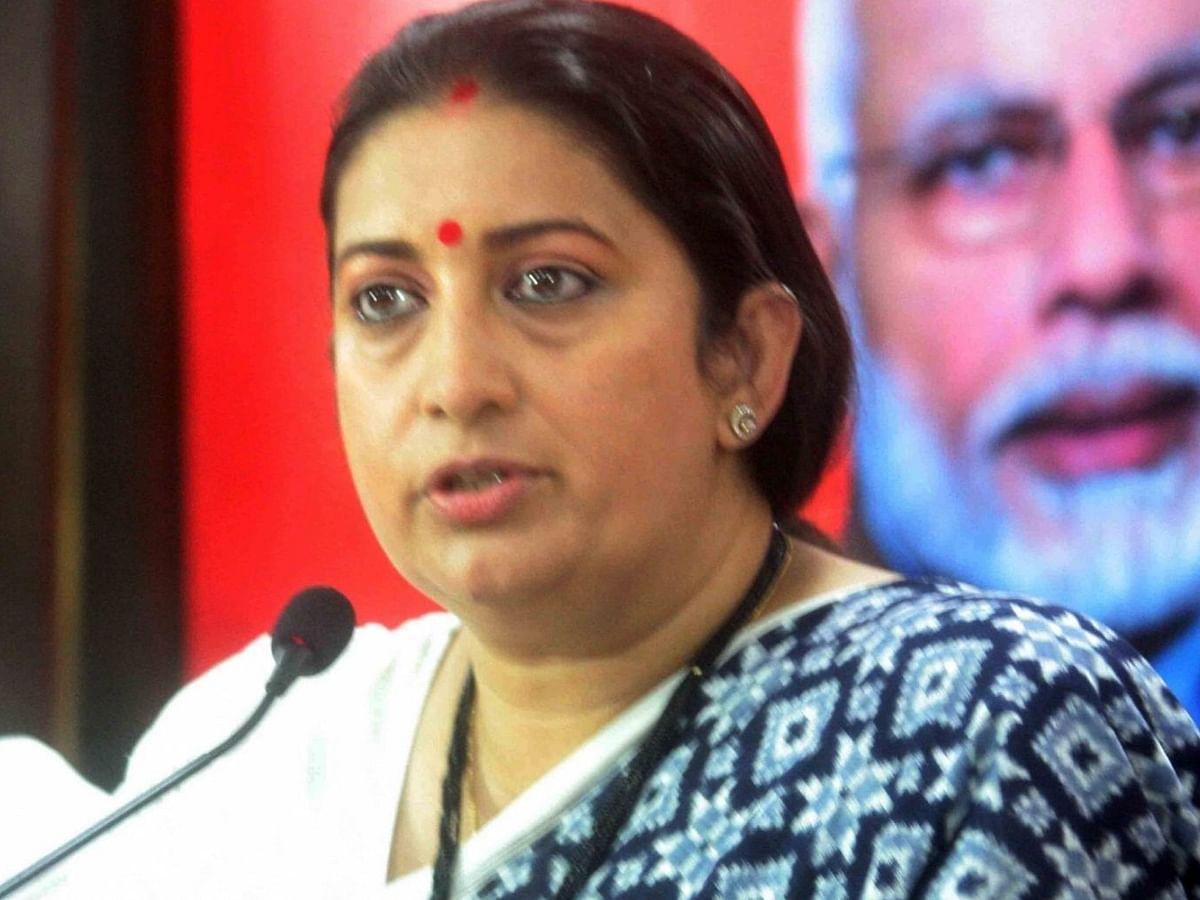 जम्मू-कश्मीर के लोगों को पीएम मोदी पर भरोसा है: केंद्रीय मंत्री स्मृति ईरानी