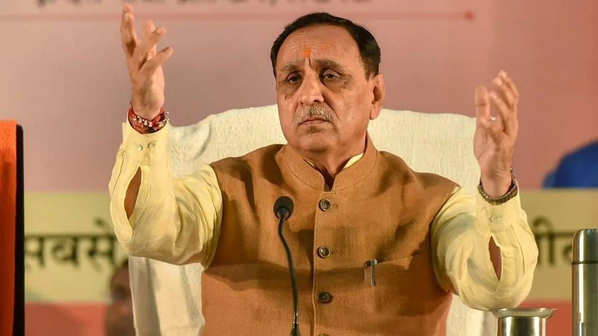 गुजरात के मुख्यमंत्री विजय रूपानी ने सीएम पद से दिया इस्तीफा