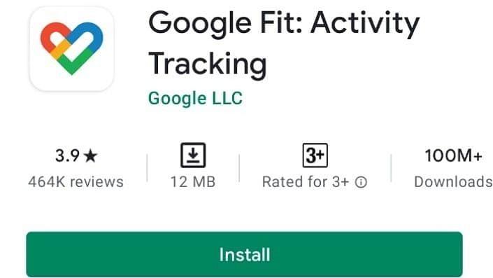 Google Fit ऐप को एंड्रॉइड पर 10 करोड़ बार किया गया इंस्टॉल