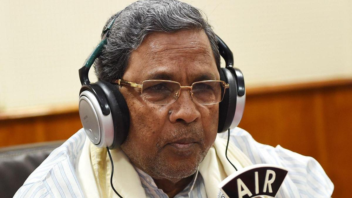 कर्नाटक भाजपा RSS की कठपुतली, उनके आदेश पर काम कर रही है : सिद्धारमैया