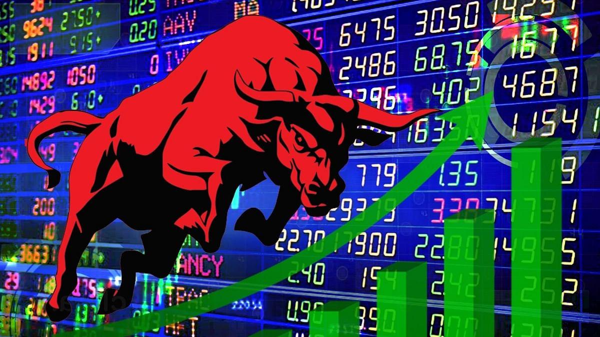 शेयर बाजार में निफ्टी नई ऊंचाई पर, सेंसेक्स 260 अंक चढ़ा