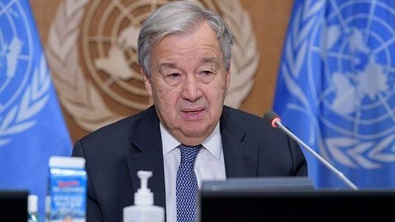 संयुक्त राष्ट्र प्रमुख ने विश्व से परमाणु हथियार समाप्त करने का आह्वान किया