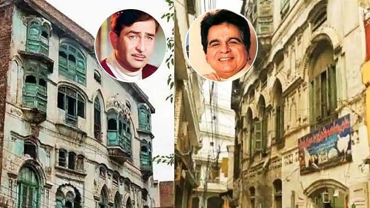 दिलीप कुमार, राज कपूर के पेशावर घरों की मरम्मत का काम शुरू
