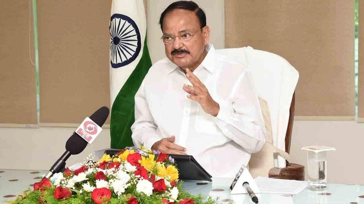उपराष्ट्रपति एम. वेंकैया नायडू आज संसद टीवी का उद्घाटन करेंगे