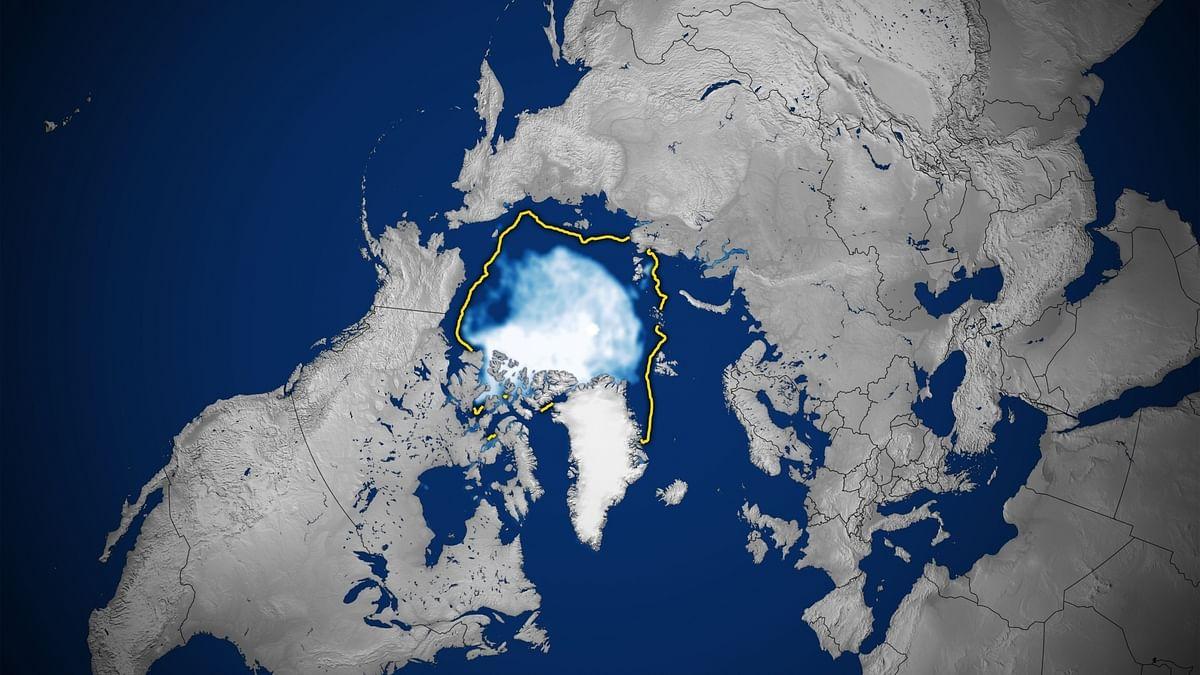 2021 आर्कटिक महासागर से बर्फ का रिकॉर्ड सबसे नीचे पहुंचा: NASA