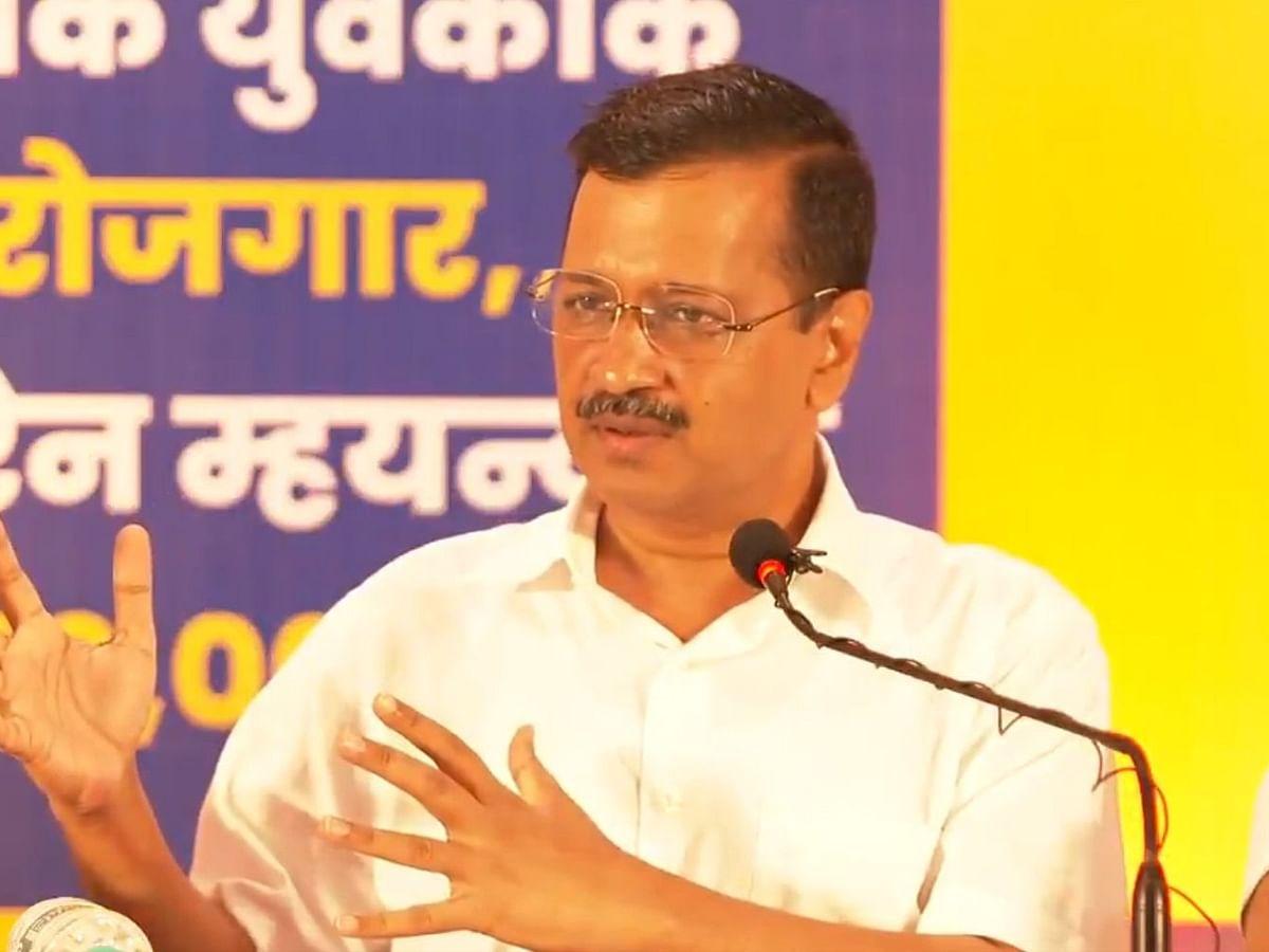 AAP असली है, भाजपा नीतियों की नकल कर रही है: अरविंद केजरीवाल
