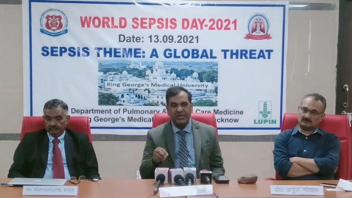 लखनऊ: KGMU में मनाया गया विश्व सेप्सिस दिवस