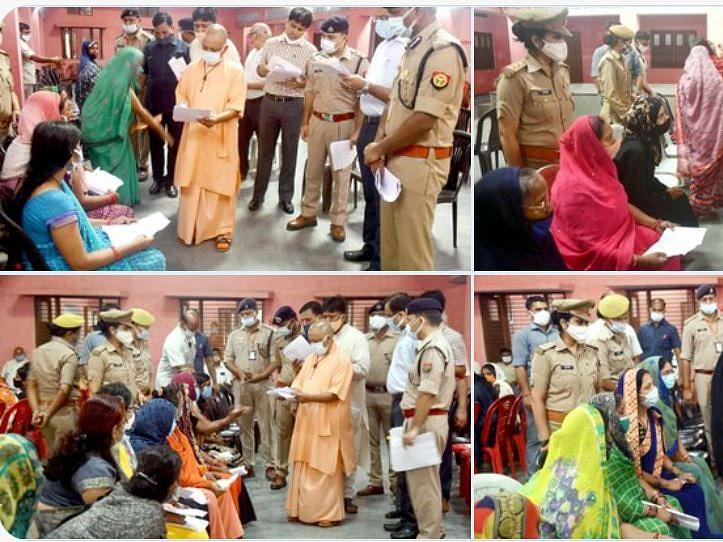 UP: गोरखपुर में सीएम योगी ने जनता दरबार में सुनी फरियाद, बोले- सबकी समस्या का समाधान होगा